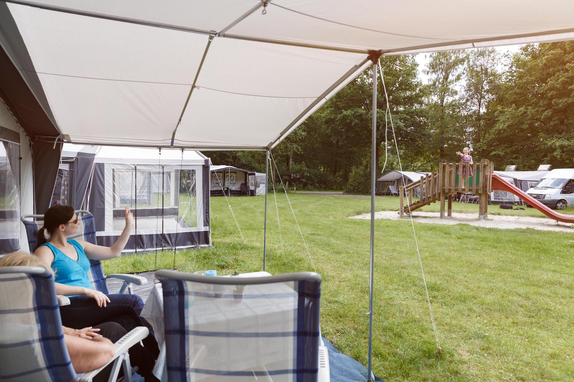 Luxe kampeerplaats